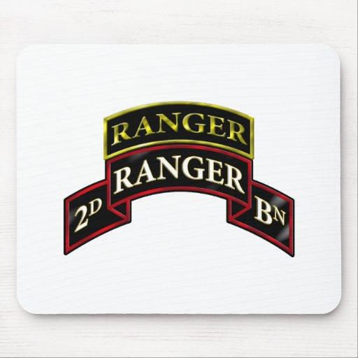 75th Ranger 2nd Battalion w/Tab Mousepads