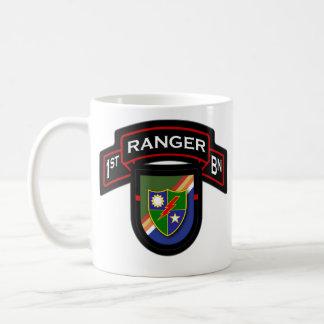 75th Ranger Regiment, 1st Bn - Airborne 1 Coffee Mug