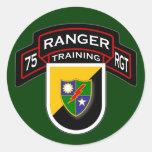 75th Ranger Regiment - Airborne - Training 2 Round Stickers