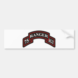75th Ranger Regiment Bumper Sticker