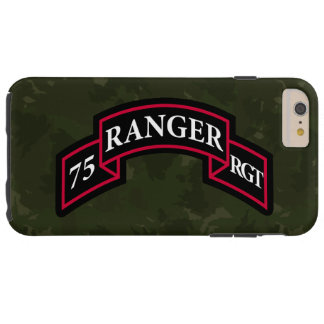 "75th Ranger Regiment ""Dark Green Camo"" Tough iPhone 6 Plus Case"