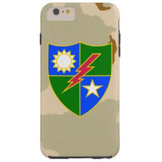 """75th Ranger Regiment DUI """"Desert Camo"""" Tough iPhone 6 Plus Case"""