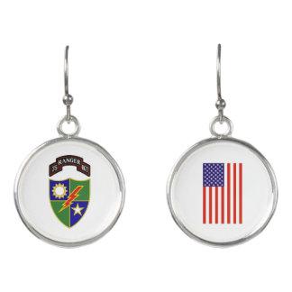 75th Ranger Regiment Earrings