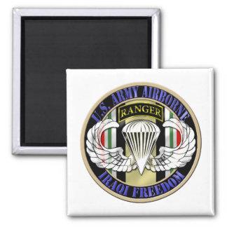 75th Ranger Regiment OIF Airborne Fridge Magnet