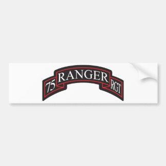 75th Ranger Regiment Scroll Bumper Stickers