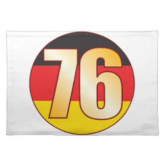 76 GERMANY Gold Placemat