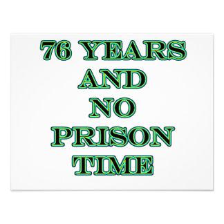76 No prison time Invitation