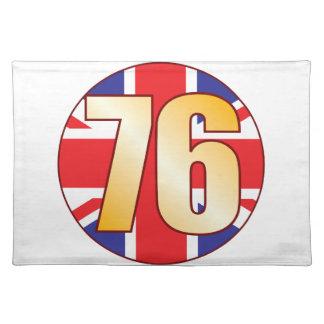 76 UK Gold Placemat