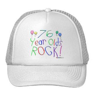 76 Year Olds Rock ! Trucker Hat