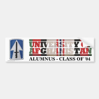 76th Infantry BCT U of Afghanistan Sticker