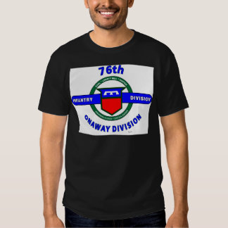 """76TH INFANTRY DIVISION """"ONAWAY DIVISION"""" T-SHIRT"""