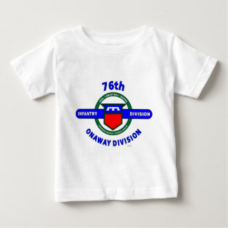 """76TH INFANTRY DIVISION """"ONAWAY DIVISION"""" TSHIRTS"""