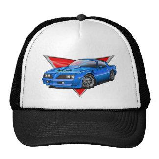 77-78 Blue Firebird TA Trucker Hat