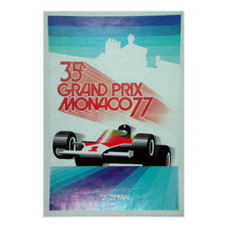 77 monico grand prix advertisement poster