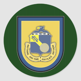 77th SFG-A 1 Round Stickers