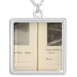 78285 Tarrytown, Ossining Silver Plated Necklace