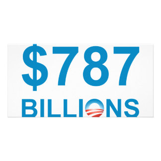 787 BILLIONS PICTURE CARD