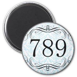 789 Area Code Fridge Magnets