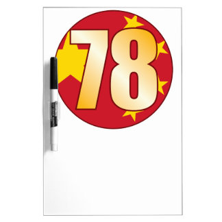 78 CHINA Gold Dry-Erase Boards