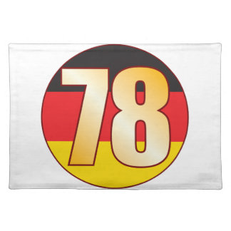 78 GERMANY Gold Placemat
