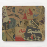 78 rpm Record Sleeves Mouse Mat