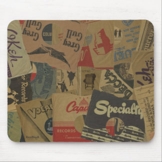 78 rpm Record Sleeves Mouse Pad