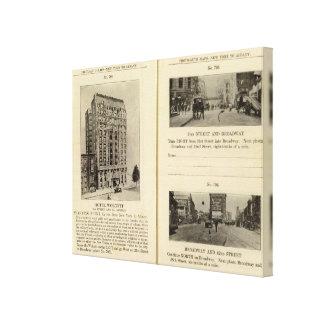 79496 Hotel Wolcott Broadway at 31st & 42nd Canvas Print