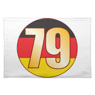 79 GERMANY Gold Placemat