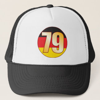 79 GERMANY Gold Trucker Hat