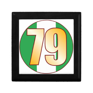 79 NIGERIA Gold Gift Box