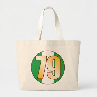 79 NIGERIA Gold Jumbo Tote Bag
