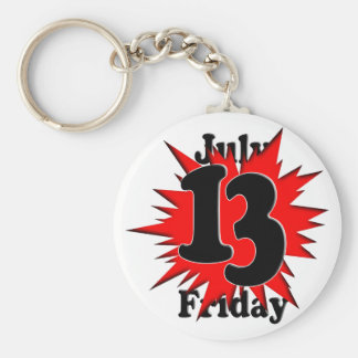 7-13 Friday the 13th Key Chain