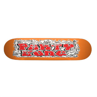 "7 3/4"" PartyZone Skateboard"
