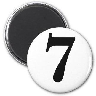 7 6 CM ROUND MAGNET