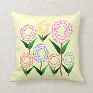 7 Bible Verse Pillow