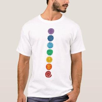 7-chakras-#1 balancing artwork T-Shirt