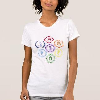7 Chakras in a Circle T-Shirt