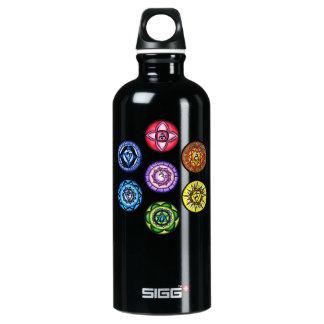 7 Chakras Yoga Liberty Bottle SIGG Traveller 0.6L Water Bottle
