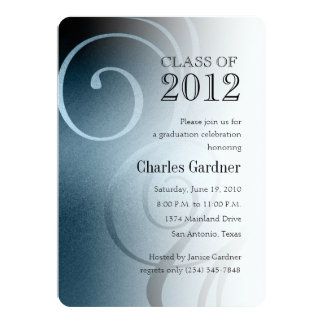 7 Color Options Class of 20XX Graduation Card