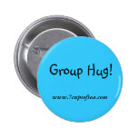 7 Cups of Tea Slogans Pinback Buttons