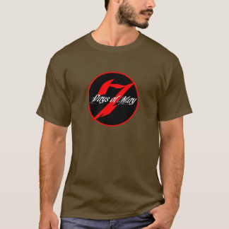 7 Days of May Round Logo T T-Shirt