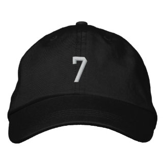 7 EMBROIDERED HATS