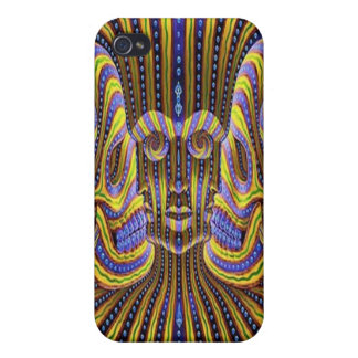 7 Faces Illusion Iphone Case Covers For iPhone 4