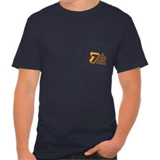 7 Heavenly Virtues Men's American Apparel Pocket T Tee Shirt