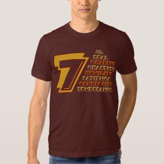 7 Heavenly Virtues Men's American Apparel T-Shirt