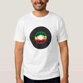 7-Inch Reggae Record T-Shirt