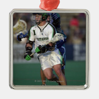 7 Jun 2001:  Gary Gait #1  Long Island Christmas Ornament