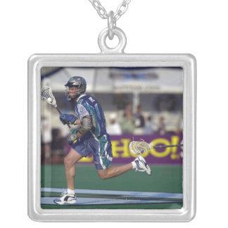 7 Jun 2001:  Josh Sims #4  Baltimore Silver Plated Necklace