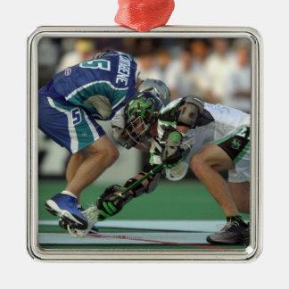 7 Jun 2001:  Paul Cantabene #5  Baltimore Silver-Colored Square Decoration