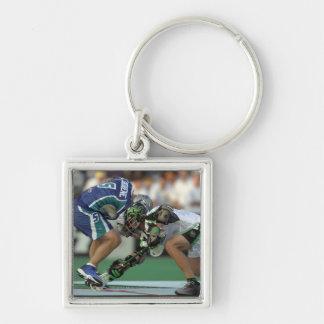 7 Jun 2001:  Paul Cantabene #5  Baltimore Silver-Colored Square Key Ring